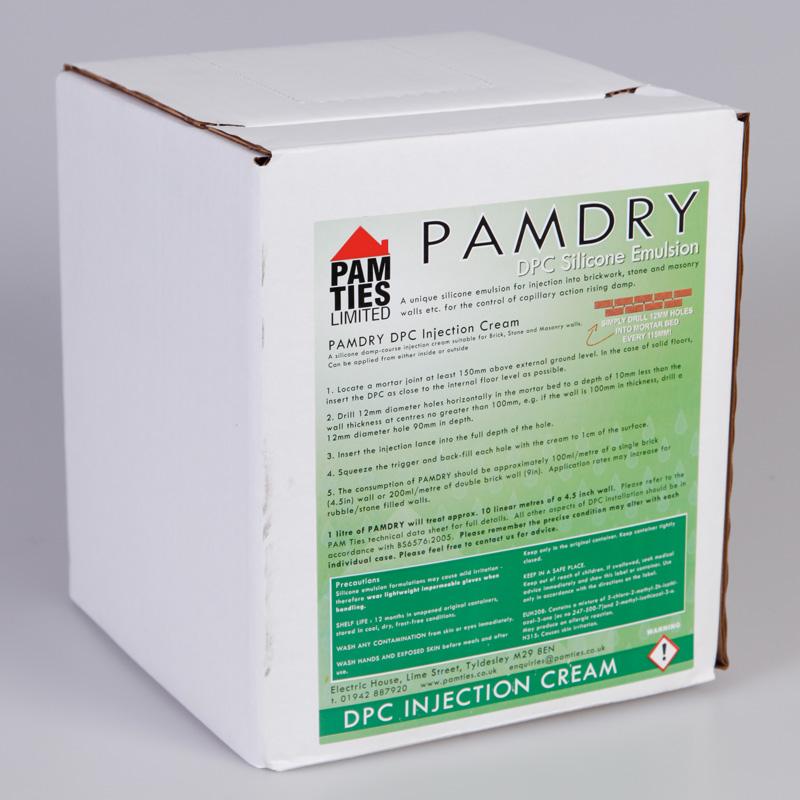PAMDry DPC cream 5 litre tub