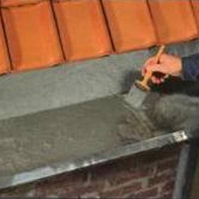 Fillcoat Fibres waterproofing guttering