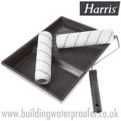 Roller set for waterproofing