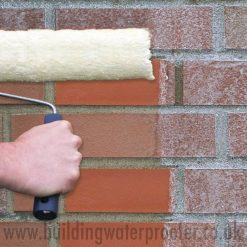 Remmers Funcosil FC Cream Brick Waterproofer during application