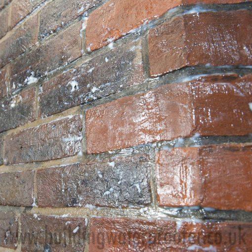Stormdry Masonry Protection Cream applying