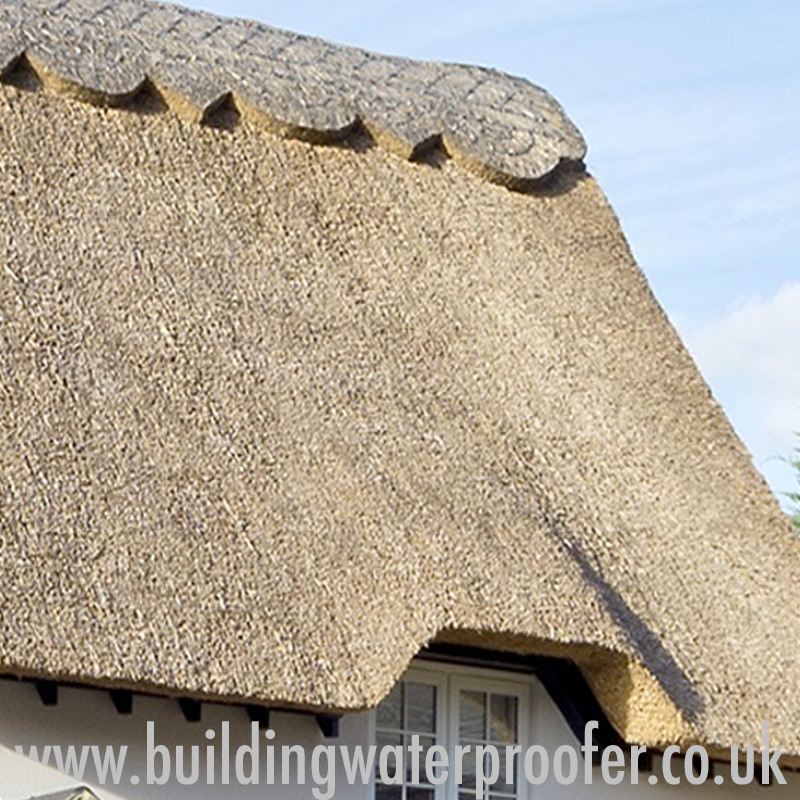 Waterproofing Thatched Roofs