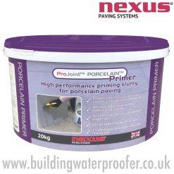 Nexus ProJoint Porcelain Primer for porcelain paving