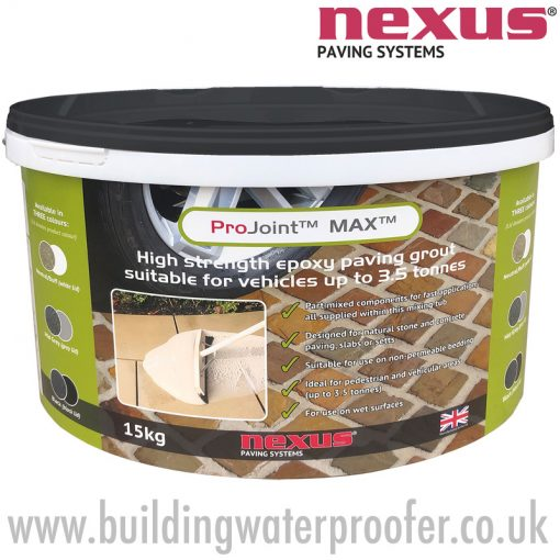 Nexus ProJoint MAX high strength Epoxy Paving Grout