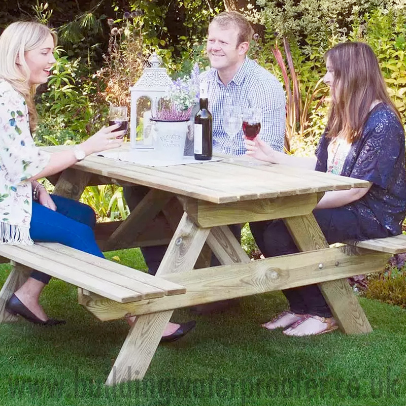 waterproof picnic table