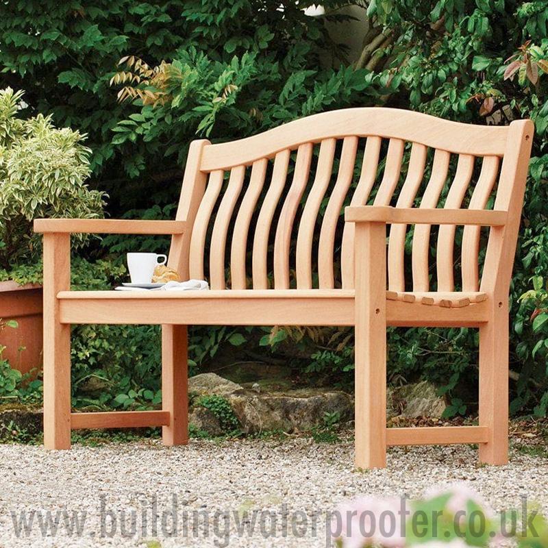 waterproof garden bench