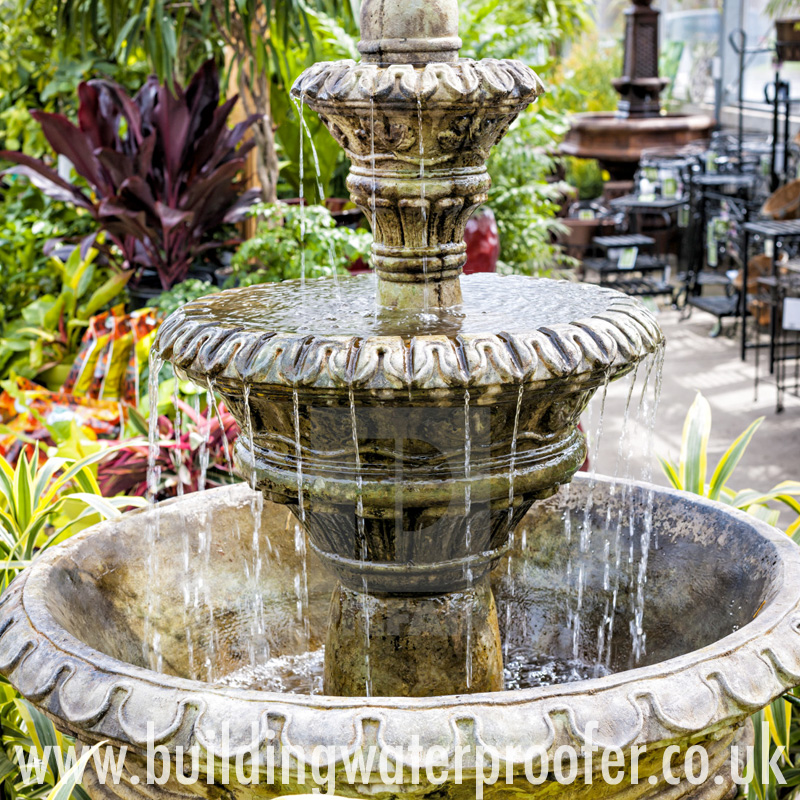waterproofing fountains