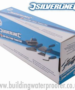 Silverline Soft-Grip Trade Trowel Set 5pce