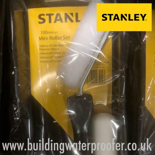 Stanley Mini Roller Emulsion & Gloss Kit