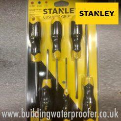 Stanley Cushion Grip 6pc Screwdriver Set