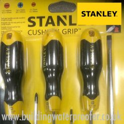 Stanley Cushion Grip 6pc Screwdriver Set