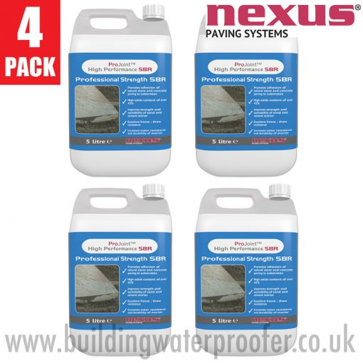 Nexus Professional Strength SBR 5 litres 4 pack