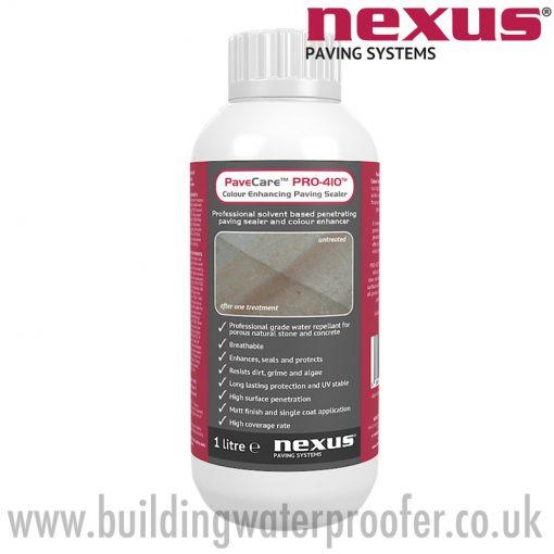 Nexus PaveCare PRO-410 Colour Enhancing Paving Sealer 1 litre