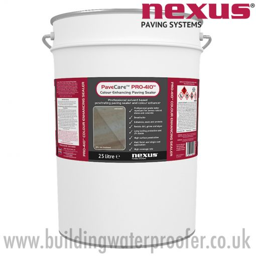 Nexus PaveCare PRO-410 Colour Enhancing Paving Sealer 25 litres
