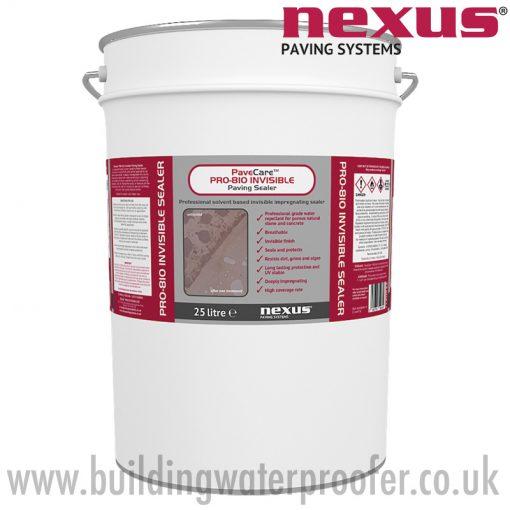 Nexus PaveCare PRO-810 Invisible Paving Sealer 25 litre