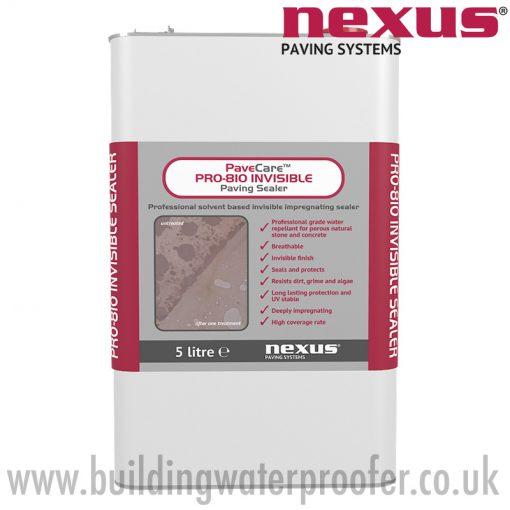 Nexus PaveCare PRO-810 Invisible Paving Sealer 5 litre