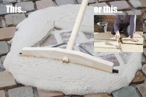 epoxy resin pointing vs traditional mortar