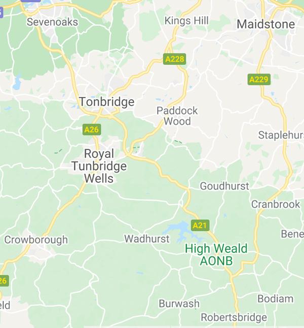 Areas we serve Tunbridge Wells, Tonbridge, Cranbrook