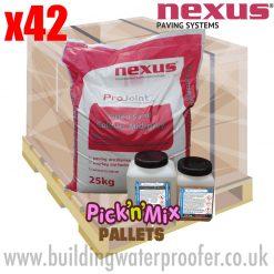 Pallet Nexus V75-WT 2 part epoxy resin mortar system